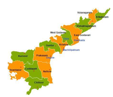 Andhra Pradesh Search Andhra Pradesh Map Andhra Pradesh With Districts Images