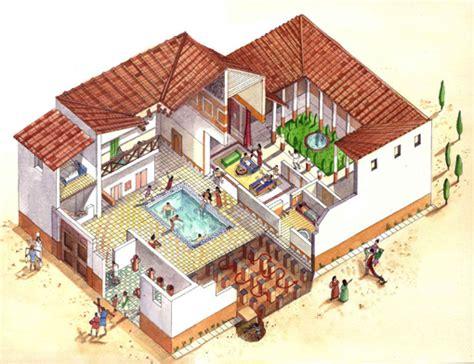 villa rustica layout roman atrium house plan google search i 그리스의 주거