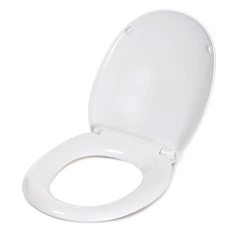 Closet Seat by Croydex Antibacterial Toilet Seat White At