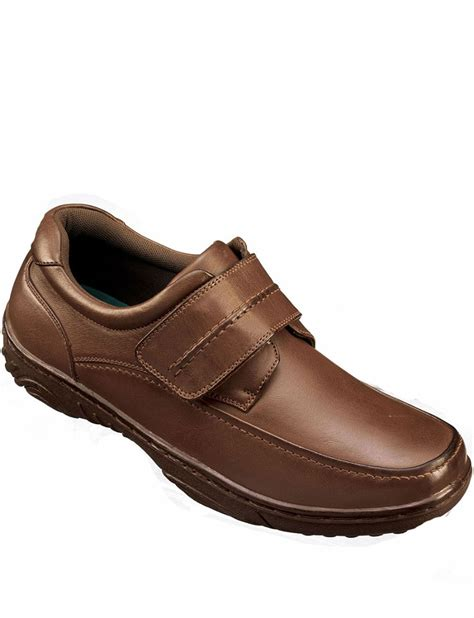 casual comfort touch and close casual comfort shoe menswear footwear