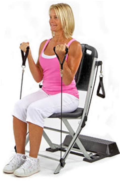 Chair Exercise System by Resistance Chair Exercise System Low Impact