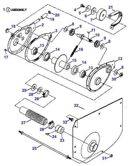 snapper lawn mower parts diagram snapper chain parts snapper rear end parts