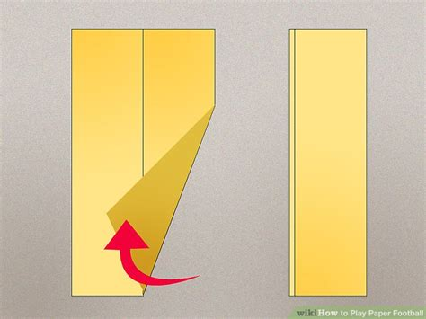Steps To Make A Paper Football - how to play paper football 9 steps with pictures wikihow