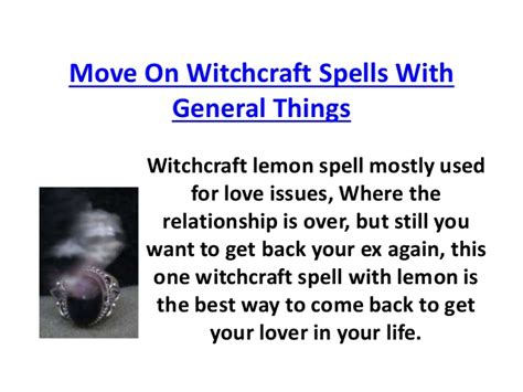 Is Spellings Ex Moving On by Move On Witchcraft Spells With General Things 07023325624
