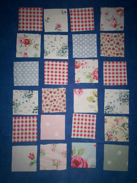 Make A Patchwork Quilt - and mews how to make a patchwork quilt or playmat