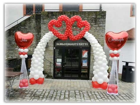 heart balloon arch balloon decorations valentines