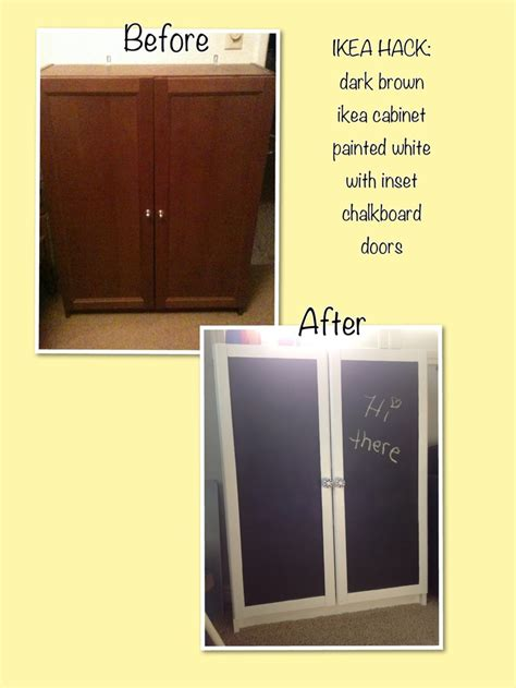 ikea hack brown billy bookcase with doors white semi