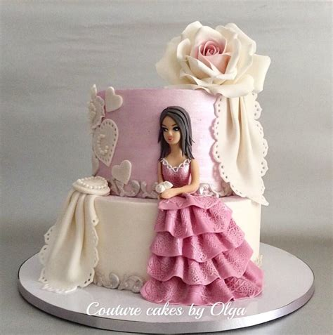 princess cake cake by couture cakes by olga cakesdecor