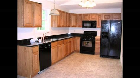 kitchen cabinets with black appliances kitchen kitchen color ideas with oak cabinets and black