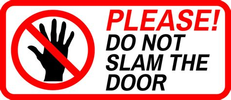 Slam The Door by Quot Do Not Slam The Door Quot Stickers By Limitlezz