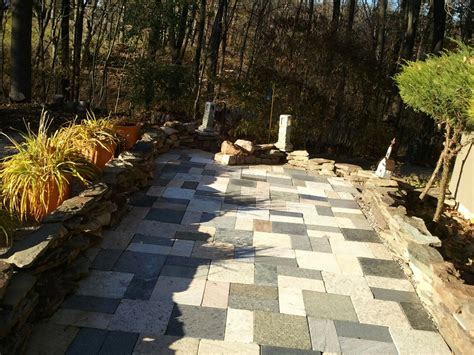 Granite Recycling In Rochester Mcm Natural Stone Recycled Patio Pavers
