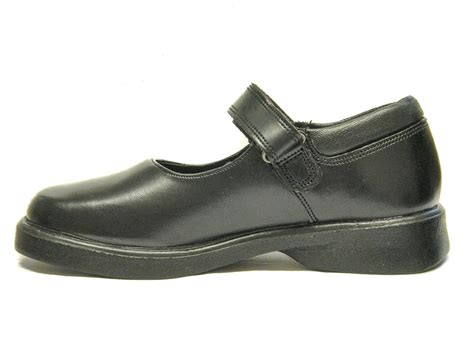 school shoes toughees school shoes black leather uk size 3