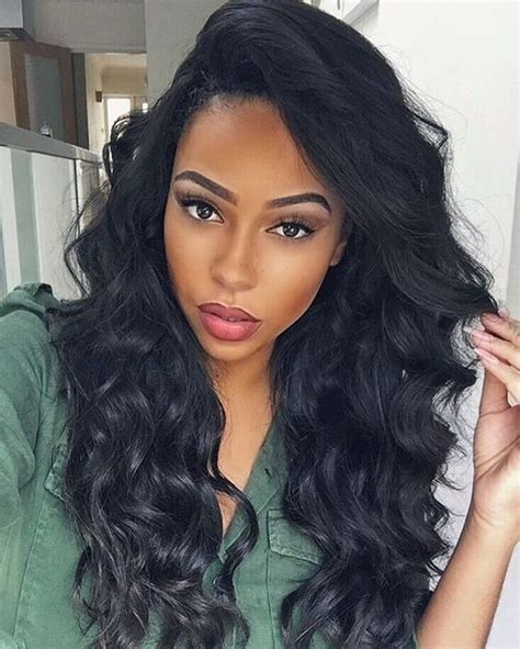 black hair stlye after five 24 quot wavy long wigs for african american women the same as