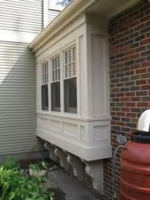 Windows bay windows bump outs trim sills styles planter