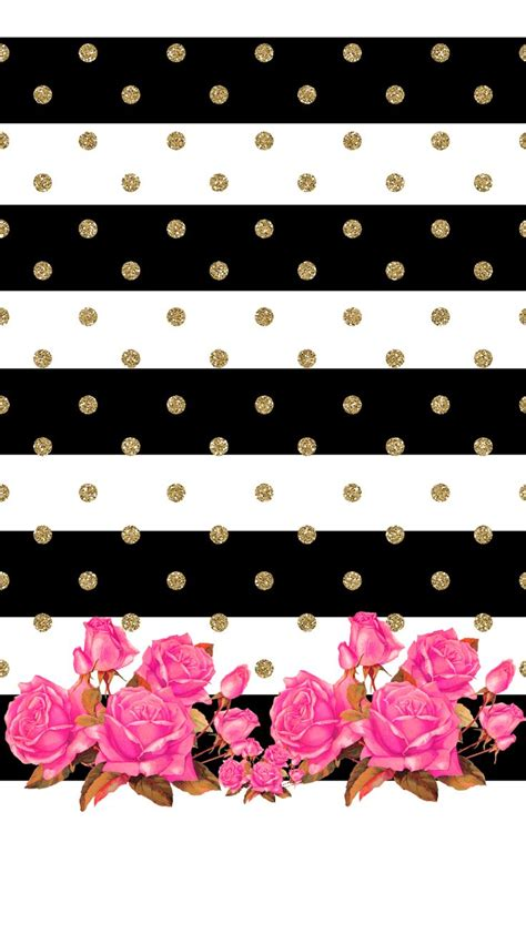 wallpaper hitam glitter the 25 best ideas about kate spade iphone wallpaper on
