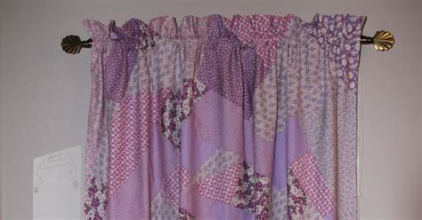 crazy curtains pink bunny crazy quilt curtains
