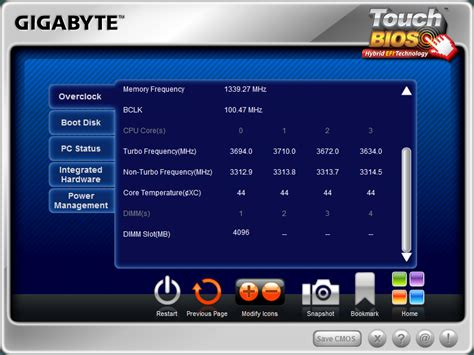 reset bios by software bios and overclocking gigabyte z68x ud3h b3 review
