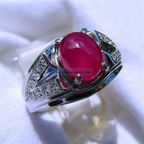 Cincin Batu Ruby cincin batu mulia ruby pigeon blood cincinpermata
