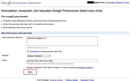membuat blog til di google membuat custom search engine google di blog blogger