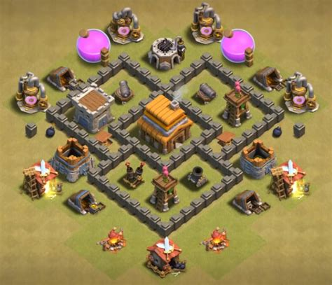 layout editor coc th 4 coc th4 war base cocbases