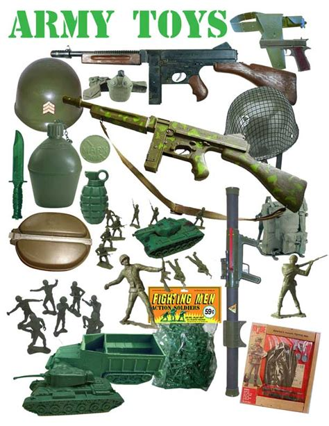 Flying Tiger Store Vintage Army Toys