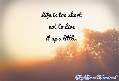 Cute Life Quotes Photograph | cute life quotes - Life is too