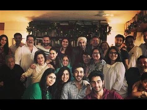 Adressaufkleber Familie by Kapoor Family Lunch On At Shashi Kapoor House