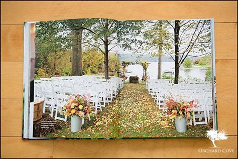 featured in the knot outdoor weddings book vt wedding