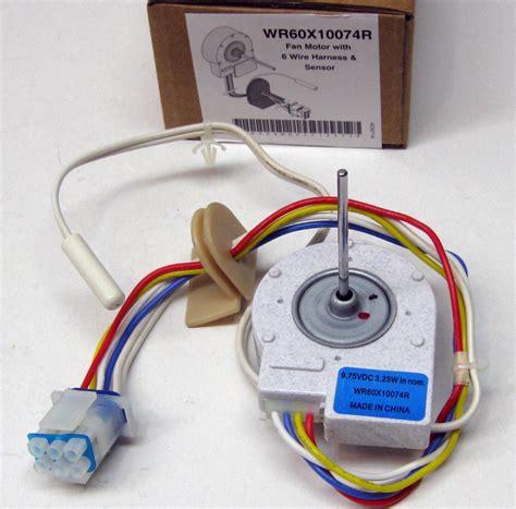 ge evaporator fan motor wr60x10074r for wr60x10074 ge evaporator freezer fan dc