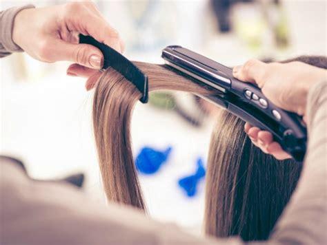 piastra per capelli bagnati piastra su capelli asciutti o bagnati donna moderna