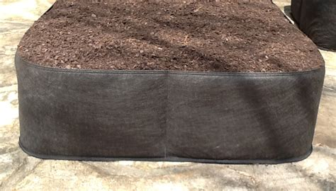 Fabric Raised Garden Beds by Fabric Raised Bed Vegetable Gardens Instant Organic Garden