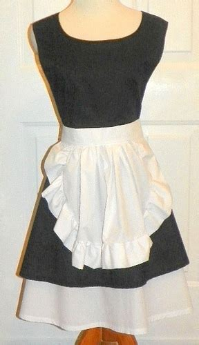 pattern for french maid apron french maid apron flickr photo sharing