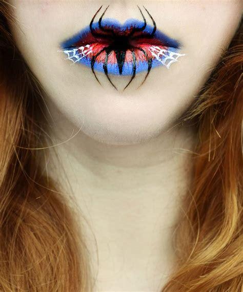 imagenes de ojos para halloween maquillaje que puedes usar en los labios para halloween