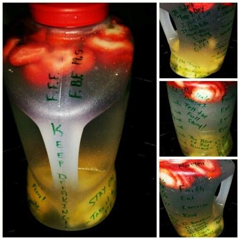 Infused Water Jug 25 best ideas about water jug challenge on