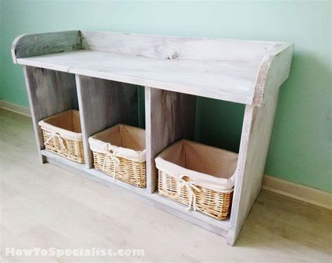 build  small entryway bench howtospecialist