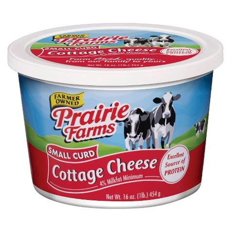 Cost Of Cottage Cheese by Prairie Farms 174 Small Curd Cottage Cheese 16oz Target