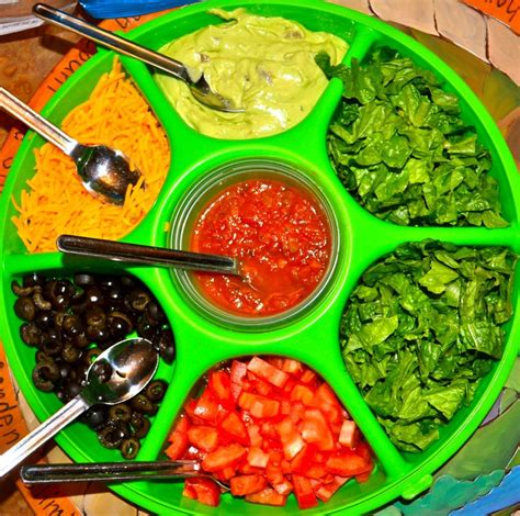 toppings for taco bar taco salad dinner ideas pinterest memes