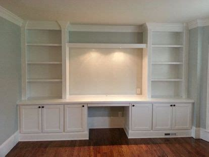 built in desk plans built in cabinets for your home ofice storage ideas
