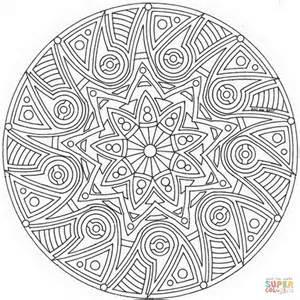 disegno mandala celtico da colorare disegni da colorare stampare gratis