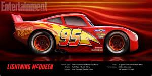 Lightning Mcqueen Car Side View Imcdb Org Made For Nascar Lightning Mcqueen In