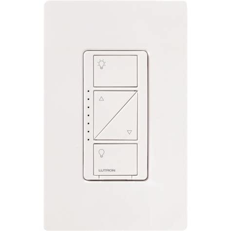Lutron L Dimmer by Lutron Pd 6wcl Wh Caseta Inwall Dimmer