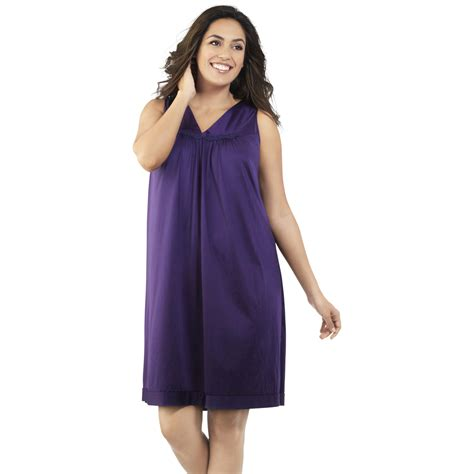 Vanity Fair Sleepwear Gowns by Vanity Fair S Sleeveless Nightgown Shop Your Way
