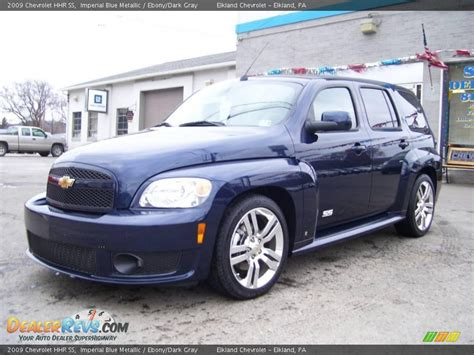 2009 Hhr Ss by 2009 Chevrolet Hhr Ss Imperial Blue Metallic