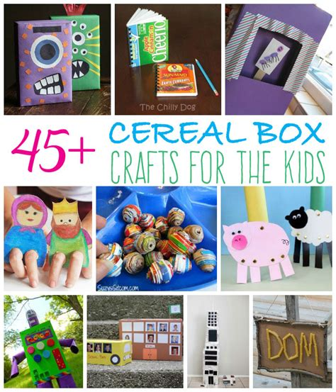 cereal box crafts for april archives family craftsfun family crafts