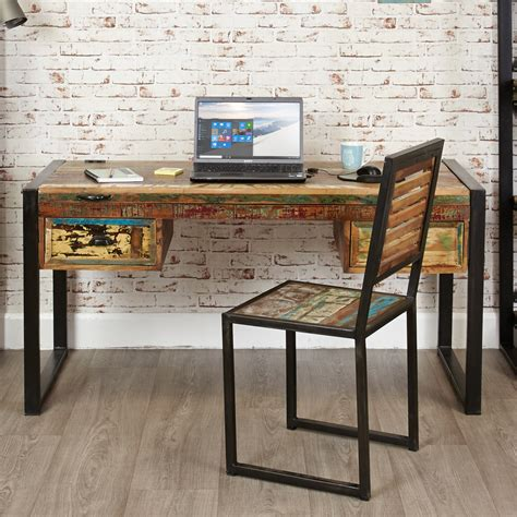 chic office desk industrial chic desk dressing table hshire furniture