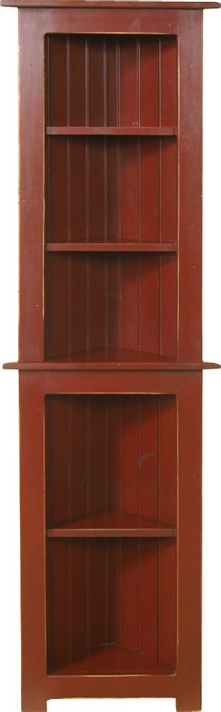 Small Corner Cabinet   Peaceful Valley Amish Furniture
