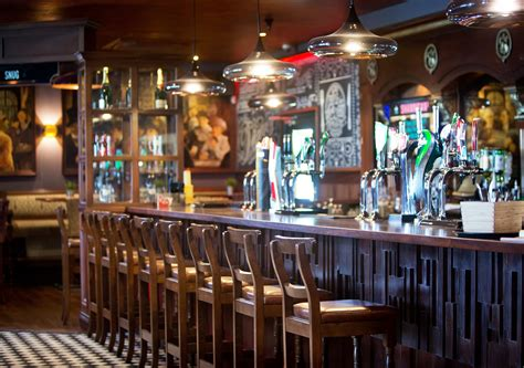 Top Of The Hill Back Bar by Bars Restaurants The Pub Company Pub Design