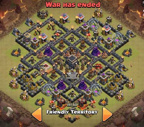 coc layout superman tổng hợp war base cho town hall 9 clash of clans việt