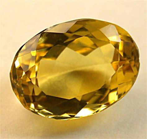 golden beryl gemstone vintage faceted oval 5 31cts