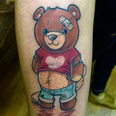 teddy bear tattoos designs 25 teddy designs ideas design trends